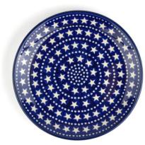 Bunzlau Castle Ontbijtbord Blue-Stars-20cm