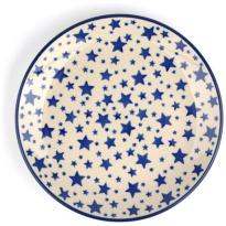 Bunzlau Castle Ontbijtbord White-Stars-20cm