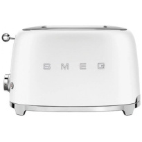 Smeg Broodrooster Mat Wit-2x2