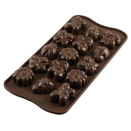 Silikomart Chocoladevorm Choco-Spring-Life
