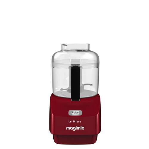 Magimix Micro Mini-Hakker Rood